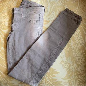 J Brand Girls Taupe Skinny Pants size 10